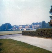 1973. Winwick Hall and the wings. (©B Nugent)
