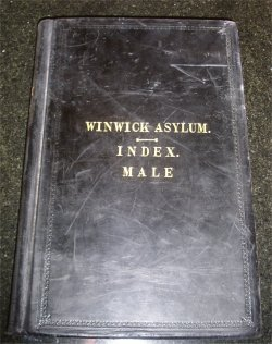 Register of male patients 1933-1946
